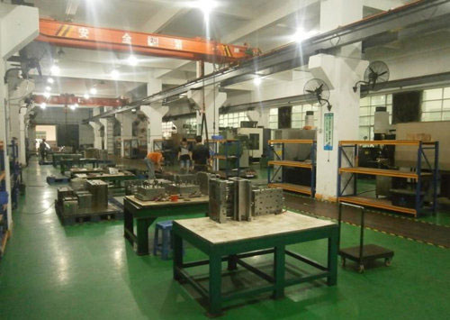 Mold manufacturing factory
